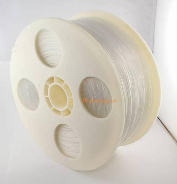 Printertec Filament Transparent ABS 1.75 mm 2.Kg Rolle für 3D-Drucker