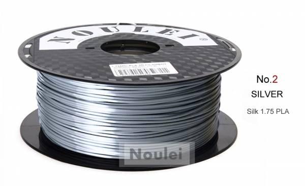 PLA Silber Metall Effekt Seidenglanz Filament