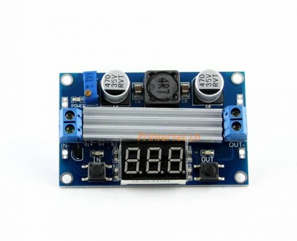 Step-up Power Module DC 3,0 ~ 35 zu 3,5-35 V LTC 1871 einstellbar + LED Voltmeterter