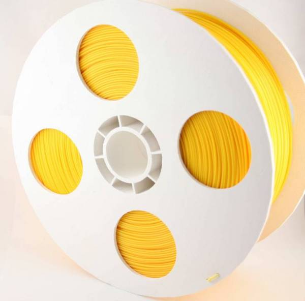 Filament Dunkelgelb ABS1.75 mm 2.Kg Rolle 3D-Drucker