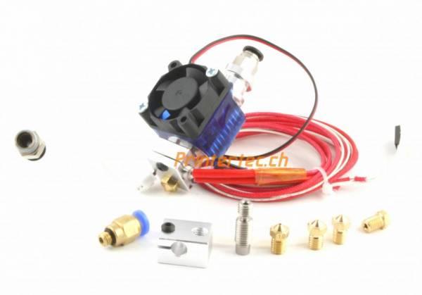 V6 Hotend mit Lüfter für 1,75mm Filament Bowden Anschluss super set