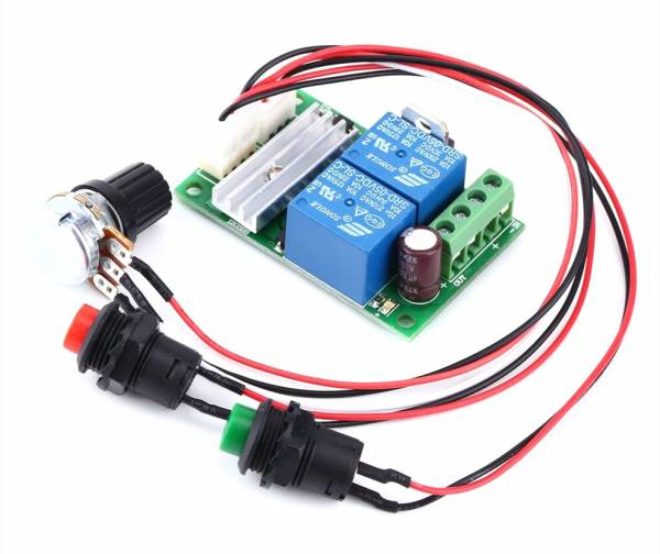 Geschwindigkeit Regler Controller Geschwindigkeit Steuerung Links Rechts DC PWM 12 24 V PWM
