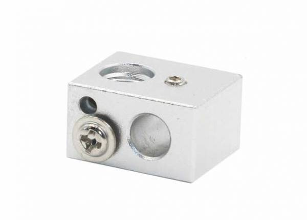 MK10 Aluminium Heizung Block Hotend 7mm Gewinde 20x16x11,5 mm