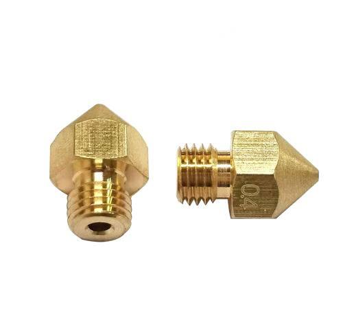 Creality Orgiginal CR-10S Pro Messing Düse 0.4 mm für 1,75 mm Filament J-kopf cr10S PRO Wärme block