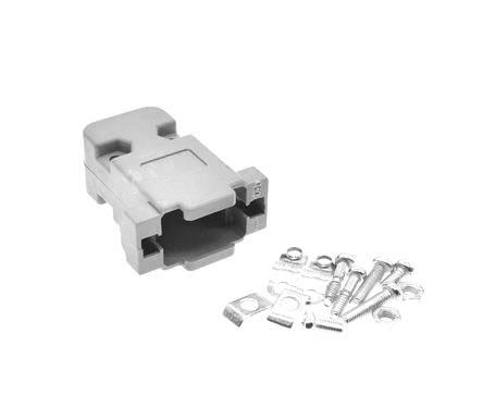 Gehäuse Für D-SUB 9 Pin 2 Reihen DB9 Pin Seriellen Anschluss
