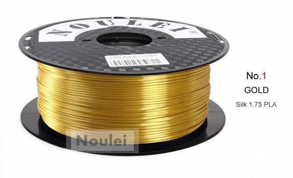 PLA Gold Metall Effekt Seidenglanz Filament