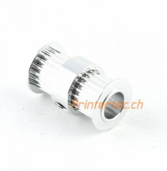 GT2 Doppel Pulley Riemenscheibe 20 Zähne Bohrung 5 mm 3D Drucker