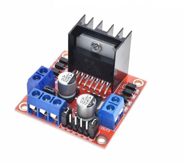 Dual H Brücke DC Stepper Motor Drive Controller Board Modul L298N