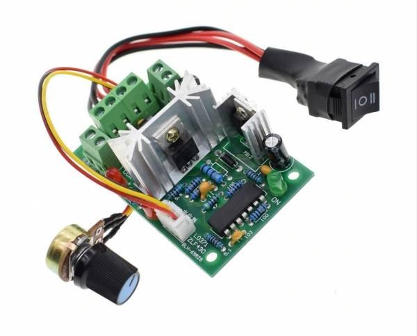 PWM DC Controller mit Positive Inversion Schalter DC Motor speed Controller 150 W 10 V 12 V 24 V 36