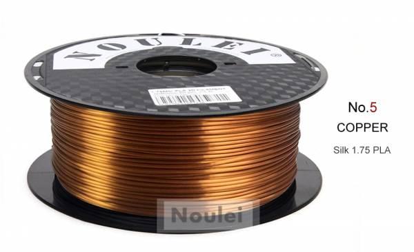 PLA Kupfer Metall Effekt Seidenglanz Filament
